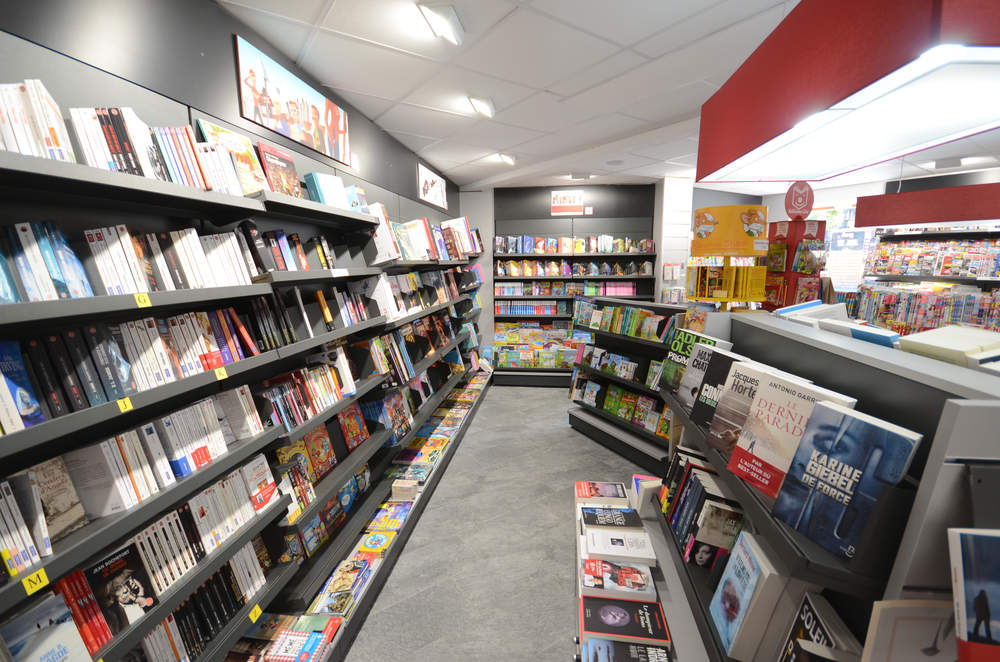 Mobilier librairie - Agencement Morzine 74