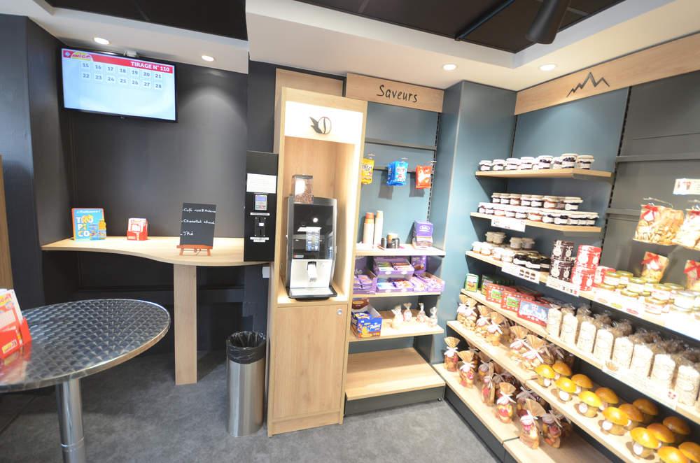 Espace café détente - Agencement Annecy 74