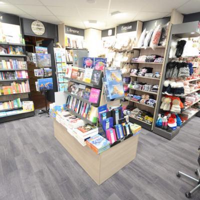 Mobilier Ilôt librairie - Agencement Autrans 38
