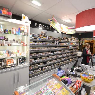 Mobilier tabac et e-cigarettes - Agencement Bonneville 74