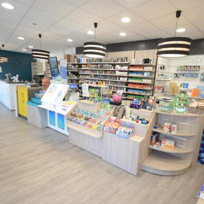 Mobilier tabac et comptoir - Agencement Chambéry 73