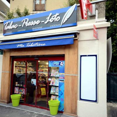 Enseigne du tabac presse - Agencement Chambéry 73