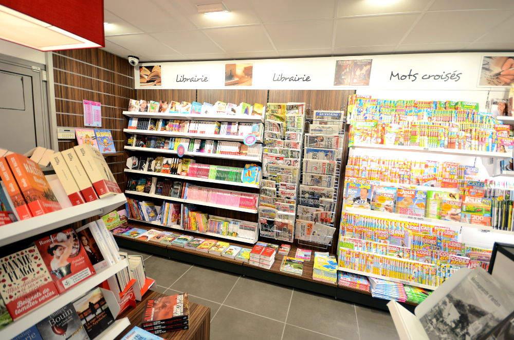 Mobilier librairie - Agencement Cognin 73