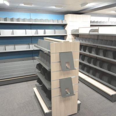 Mobilier librairie - Agencement sous-sol Les Gets 74