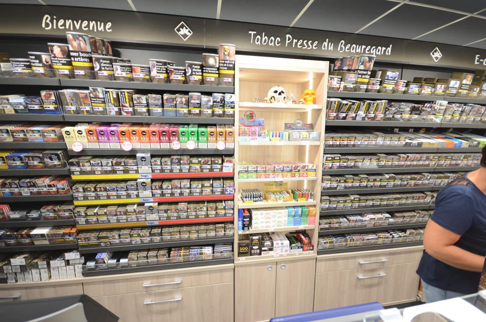 Mobilier tabac et e-cigarettes - Agencement La Motte-Servolex 73