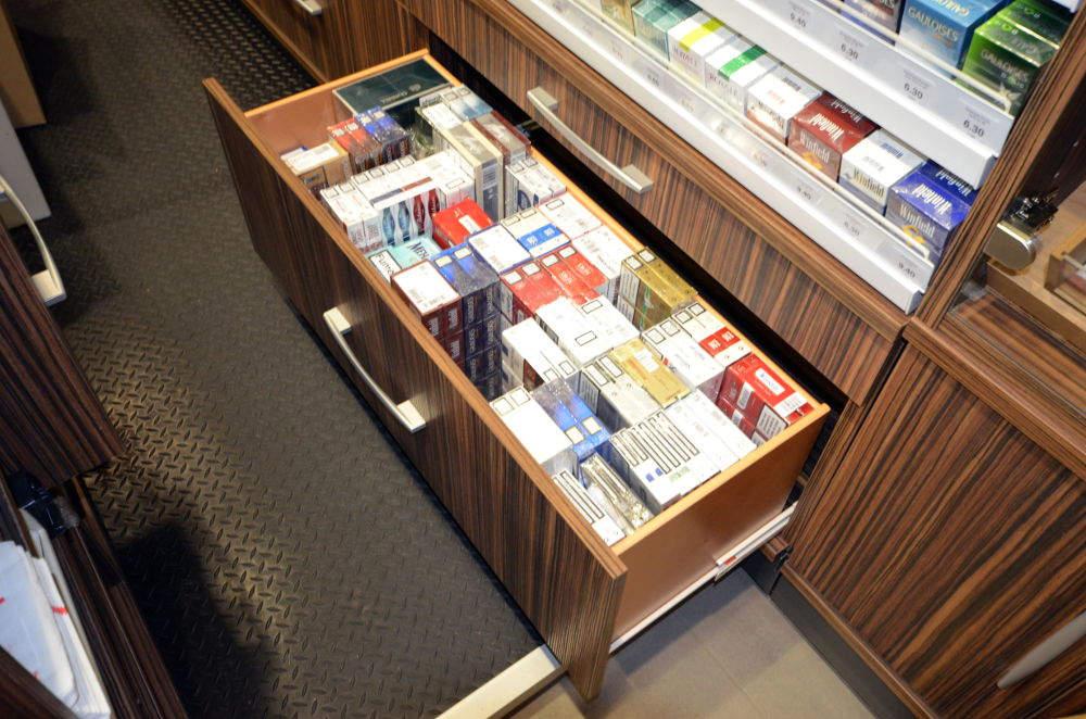 Rangement tabac - Tabac presse Manu La Clusaz 74