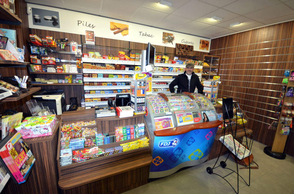 Mobilier tabac - Tabac presse Manu La Clusaz 74