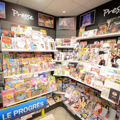 Angle presse - Agencement Lyon 69002