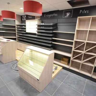 Mobilier tabac et e-cigarettes - Agencement Saint-Laurent-du-Pont 38
