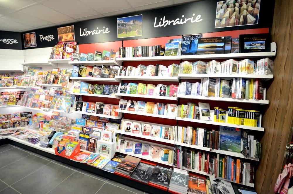 Mobilier librairie - Agencement Saint Jean de Sixt 74