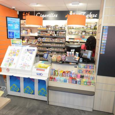 Comptoir et mobilier tabac - Agencement Thonon-les-Bains 74