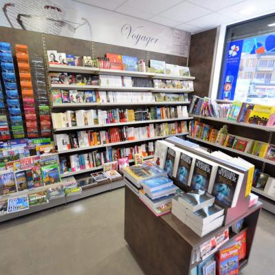 Mobilier librairie - Agencement Ugine 73