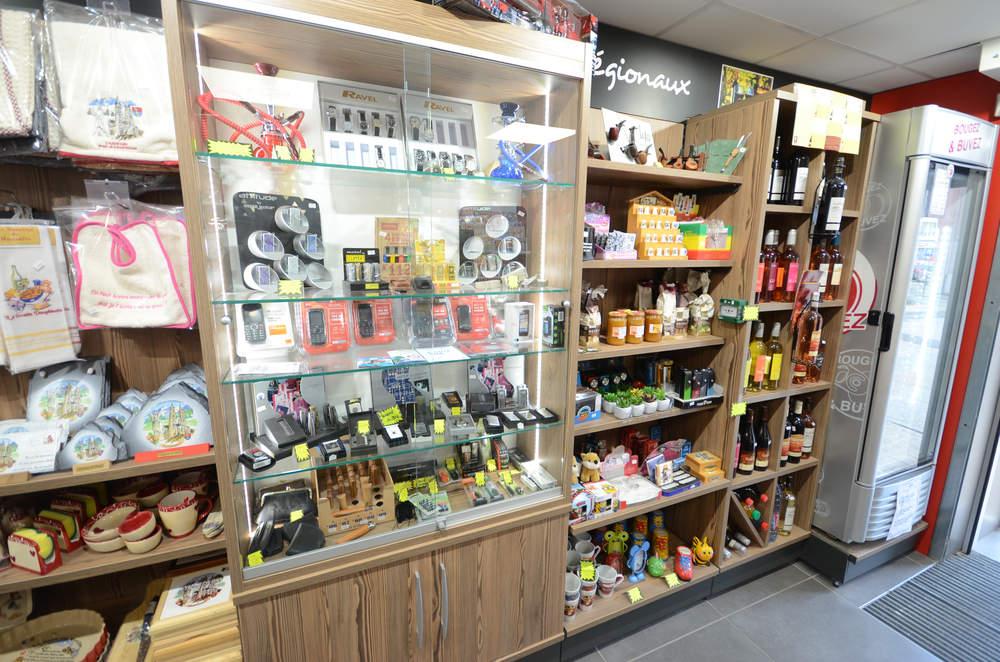 Mobilier cadeaux et produits régionaux - Agencement Voiron 38