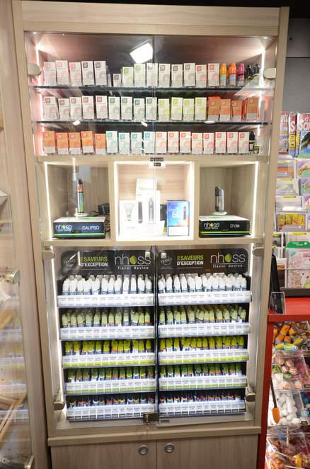 Mobilier cigarettes électroniques - e-liquides à Pringy (74)