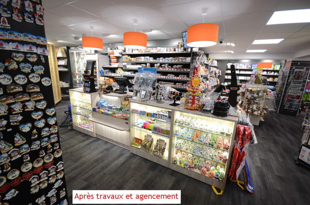 Tabac presse La Plagne après modernisation