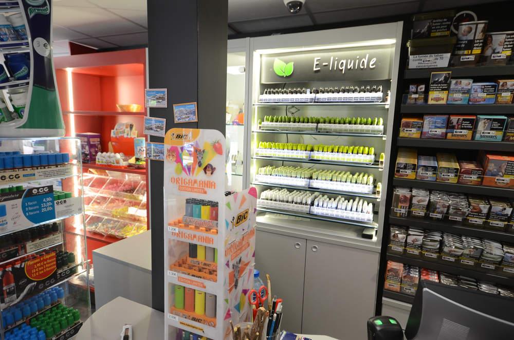 Mobilier cigarettes électroniques - e-liquides à Moutiers (73)